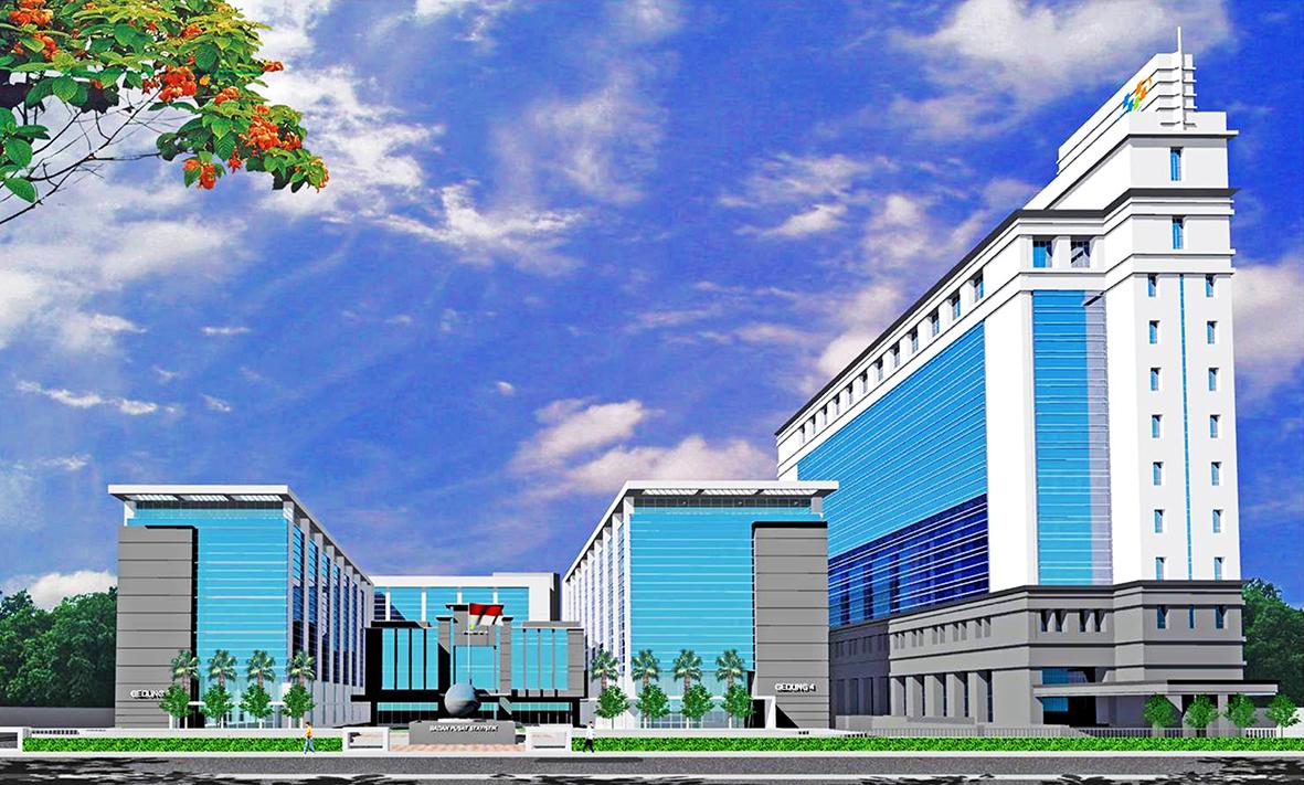 Gedung Badan Pusat Statistik (BPS), Jakarta Pusat