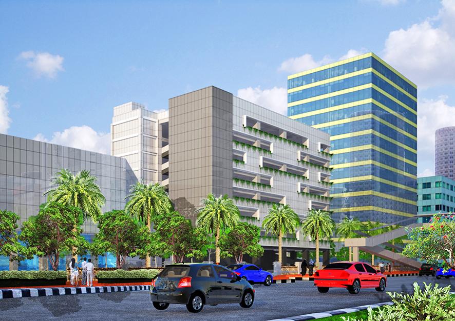 Gedung Parkir Kemenkes, Jakarta