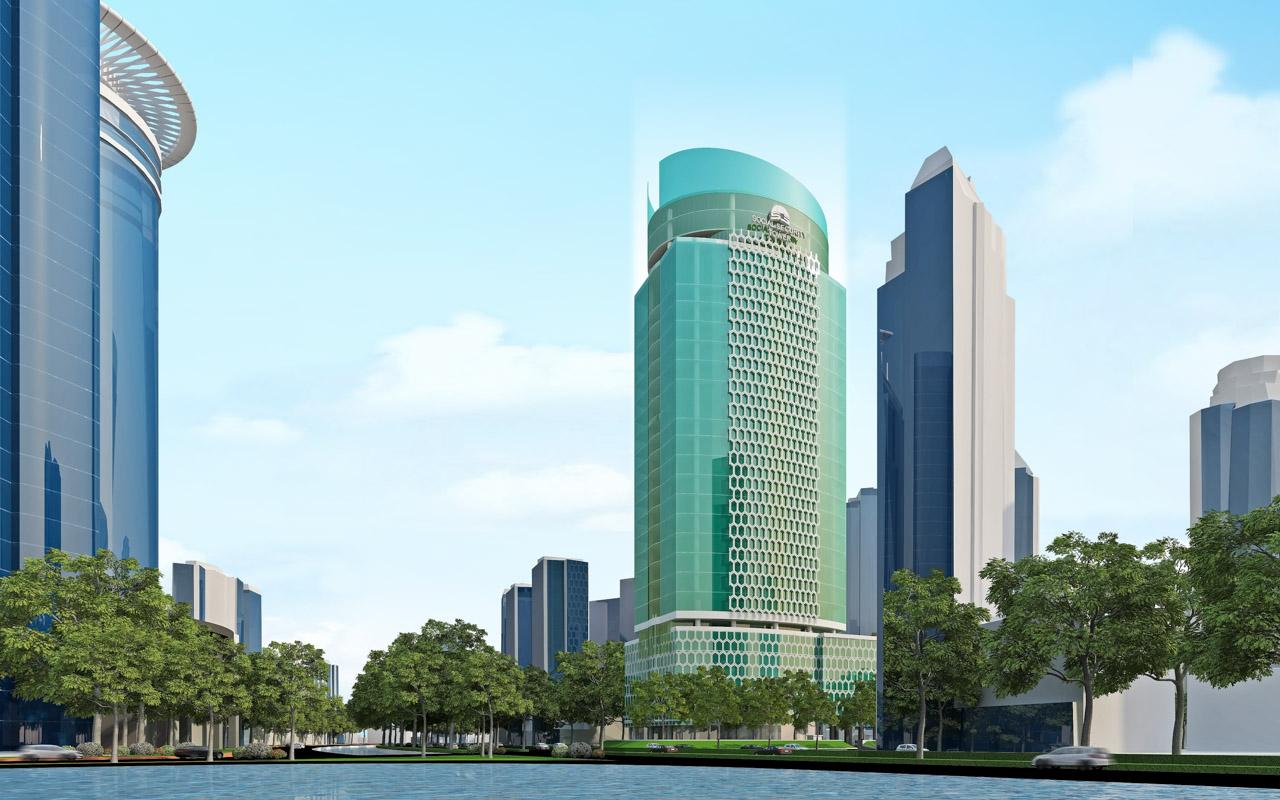 Social Security Tower - BPJS Jakarta